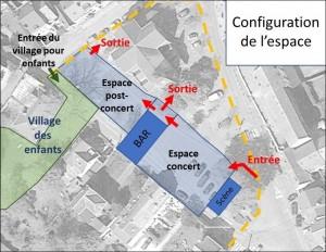 Plan de la place 2021